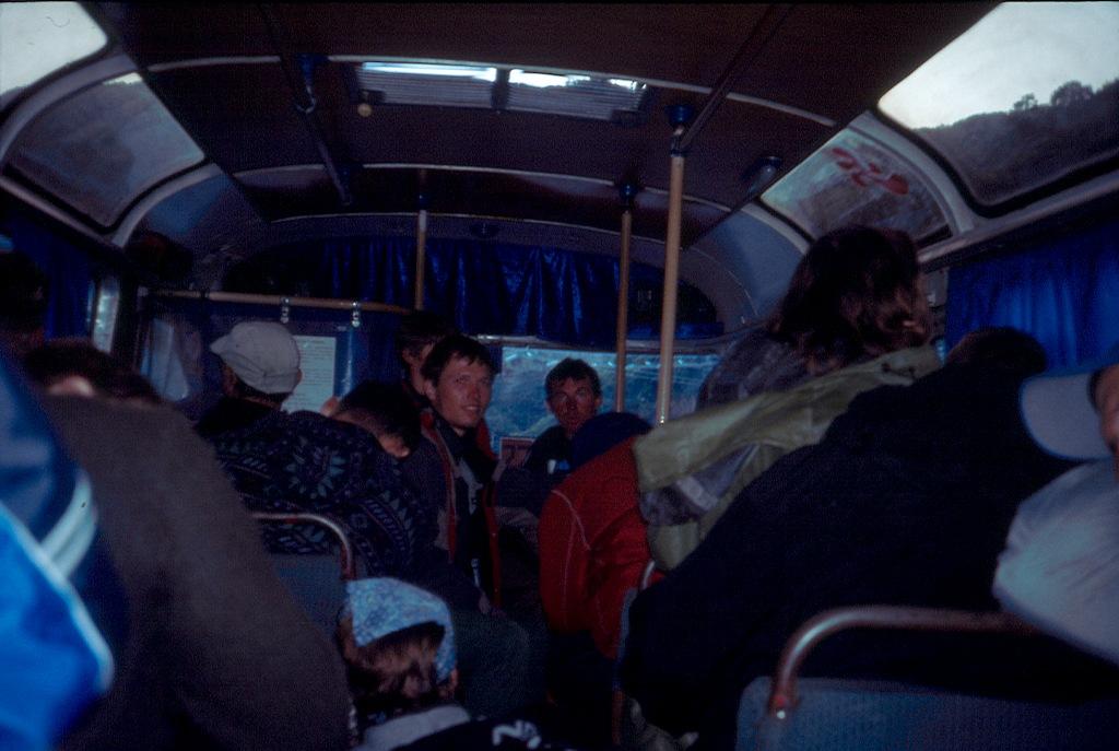 Przejazd autobusem PAZ kabardyno-Bałkaria
