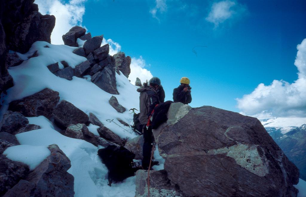 Climbing in Caucazus