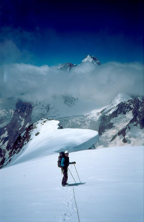 Szczyt Ullukara Kaukaz