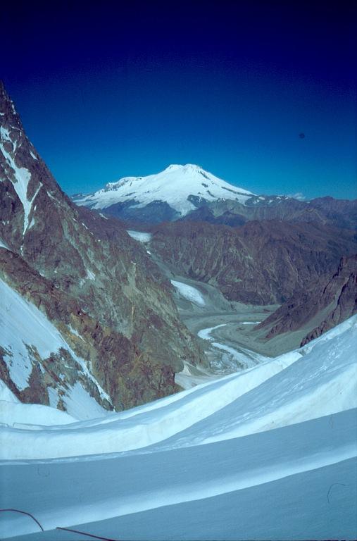 Elbrus spod Uszby