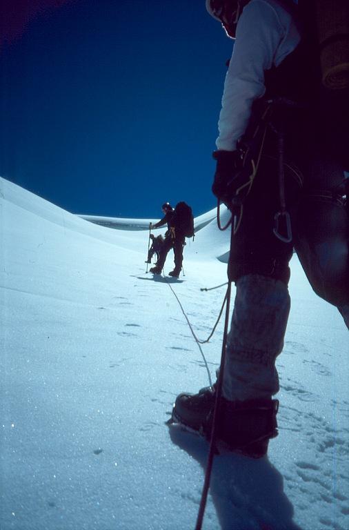 Przejście Uszbijskiego lodospadu