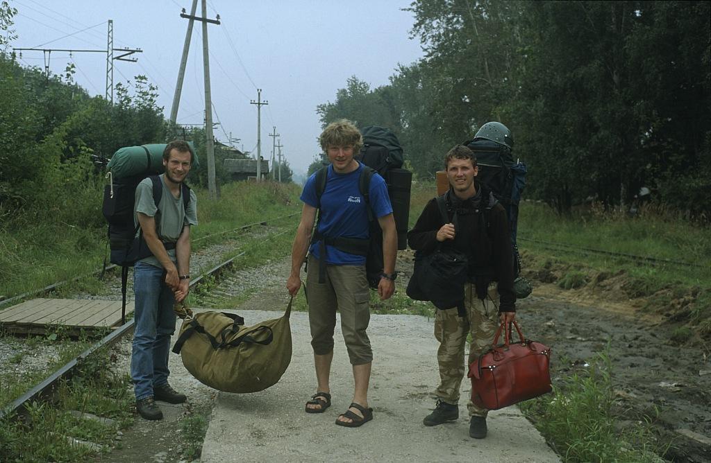 Z wyprawowymi bagażami