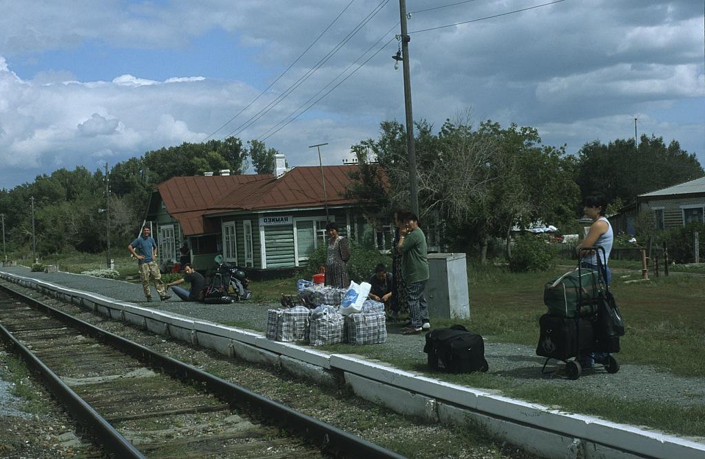przystanek kolejowy w rosji