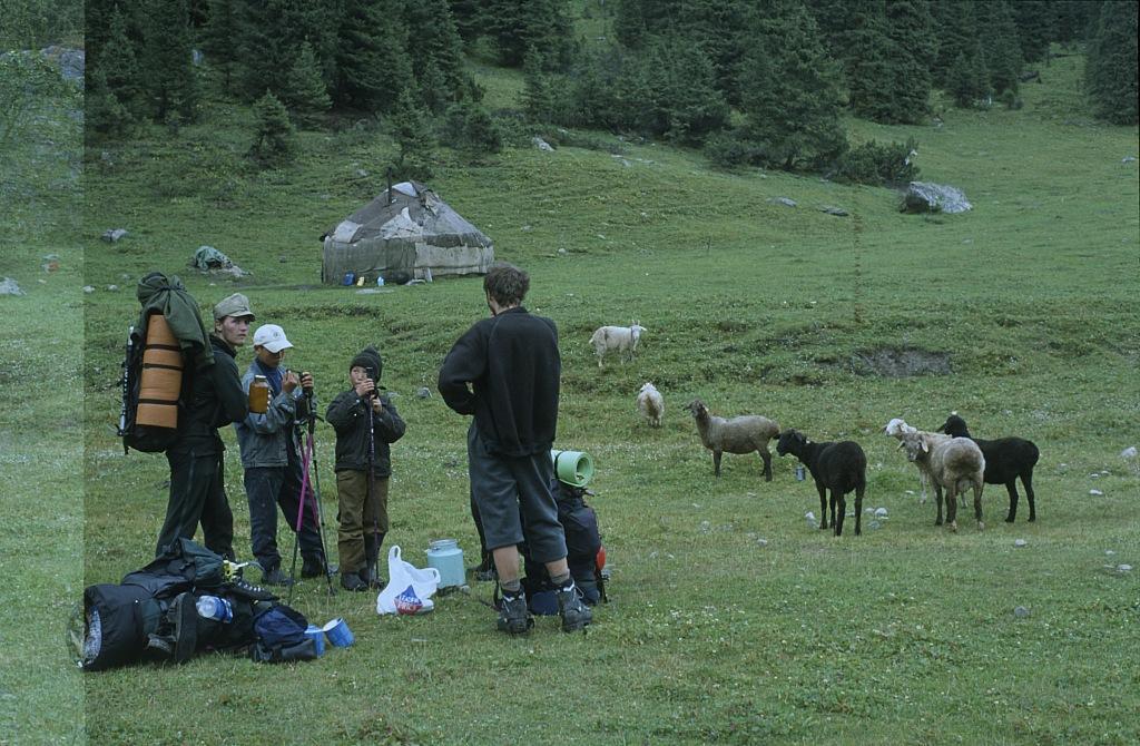 Pasterze w Kirgistanie
