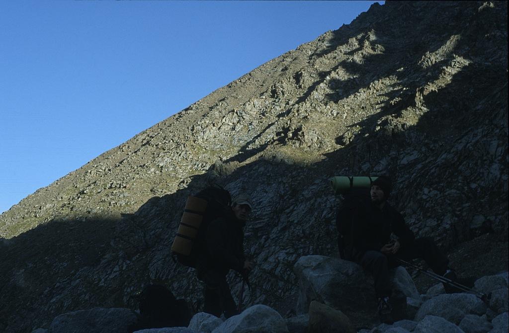 Wspinaczka w górach Tienszan