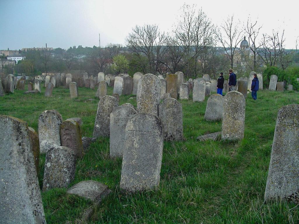W miejscowosci Tłuste (Tołste) zwiedzamy kirkut żydowski.