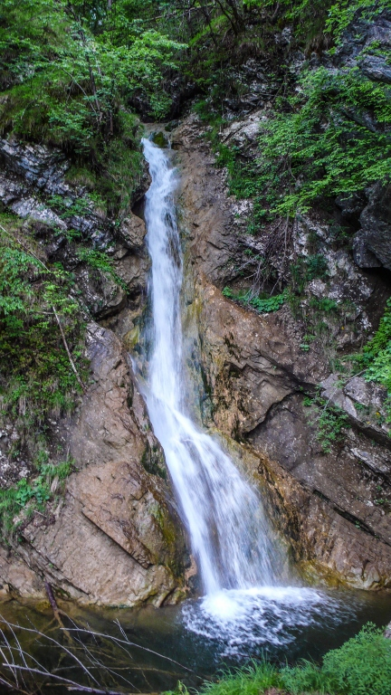 Pekel waterfall Slovenia