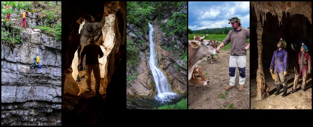 Słowenia – jaskinie (2014)