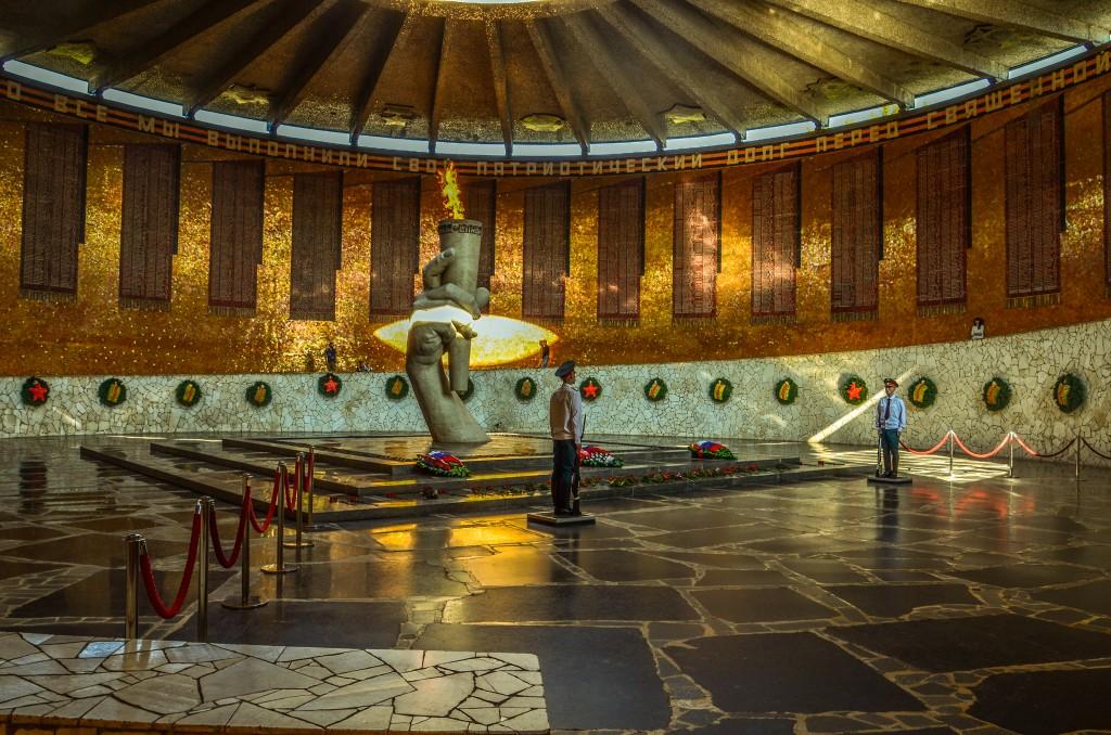 Sala Wojennej Sławy Kurhan Mamaja