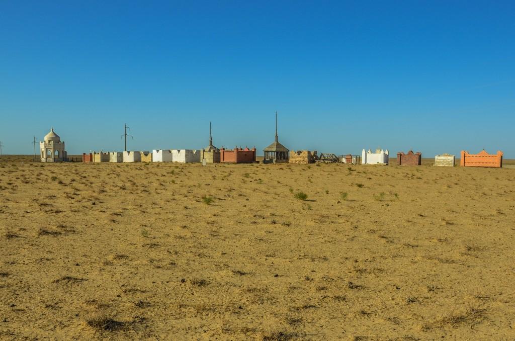 Cmentarz w kazachstanie