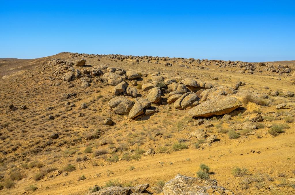 Kamienne konkrecje w kazachstanie. Ustiurt