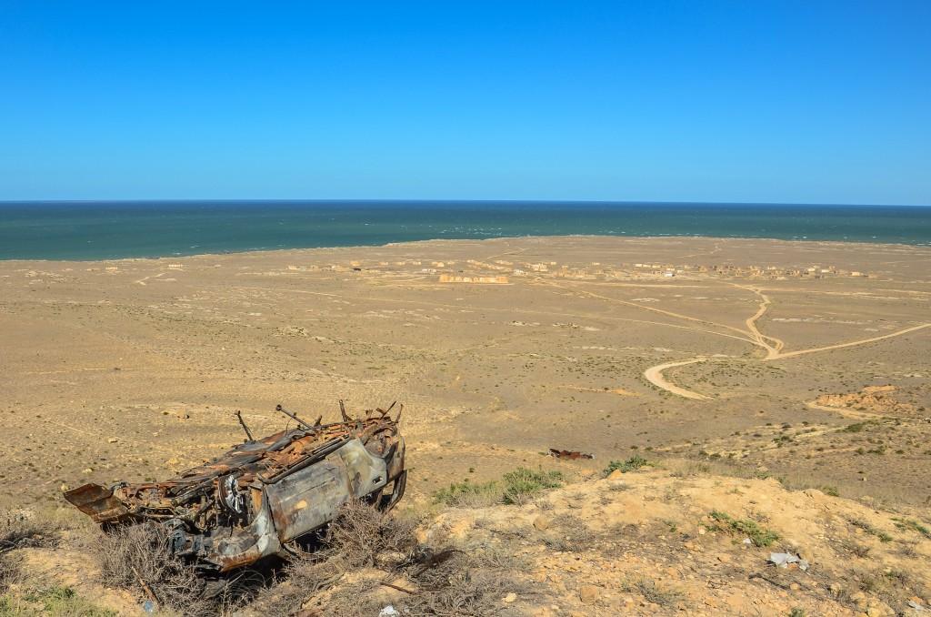 Morze kaspijskie Mangystau, Ustiurt
