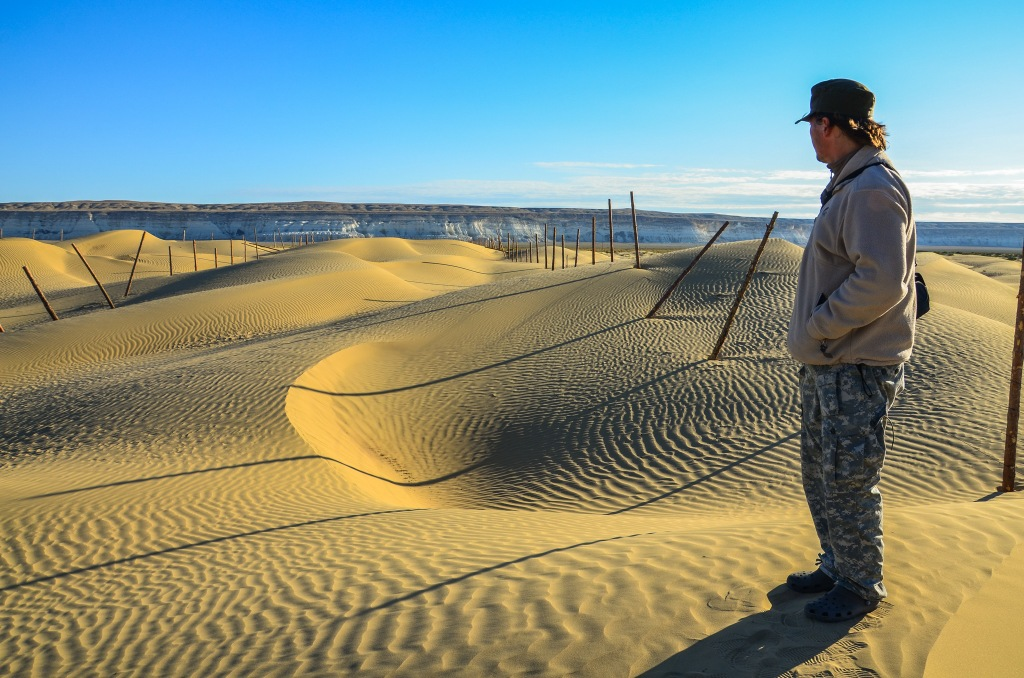 Piaski Tujesu (Пески Туйесу) Kazachstan