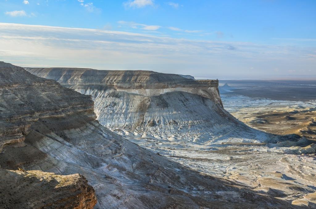 Krajobraz Zachodniego Kazachstanu