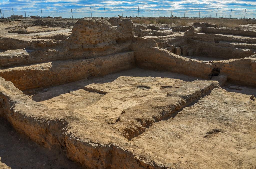Średniowieczne wykopaliska Kazachstan