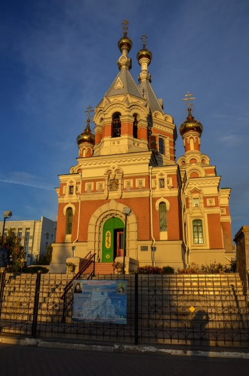 Cerkiew Chrystusa Zbawiciela w Uralsku