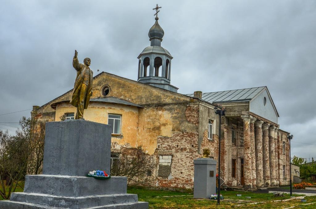 Lenin i cerkiew