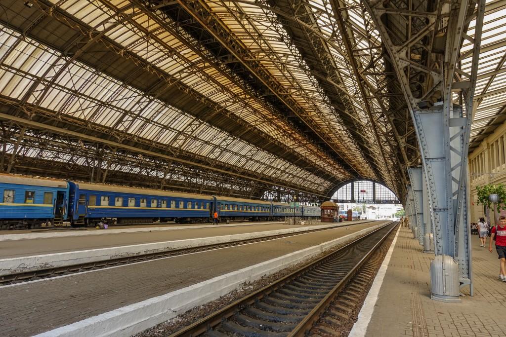 Dworzec kolejowy we Lwowie