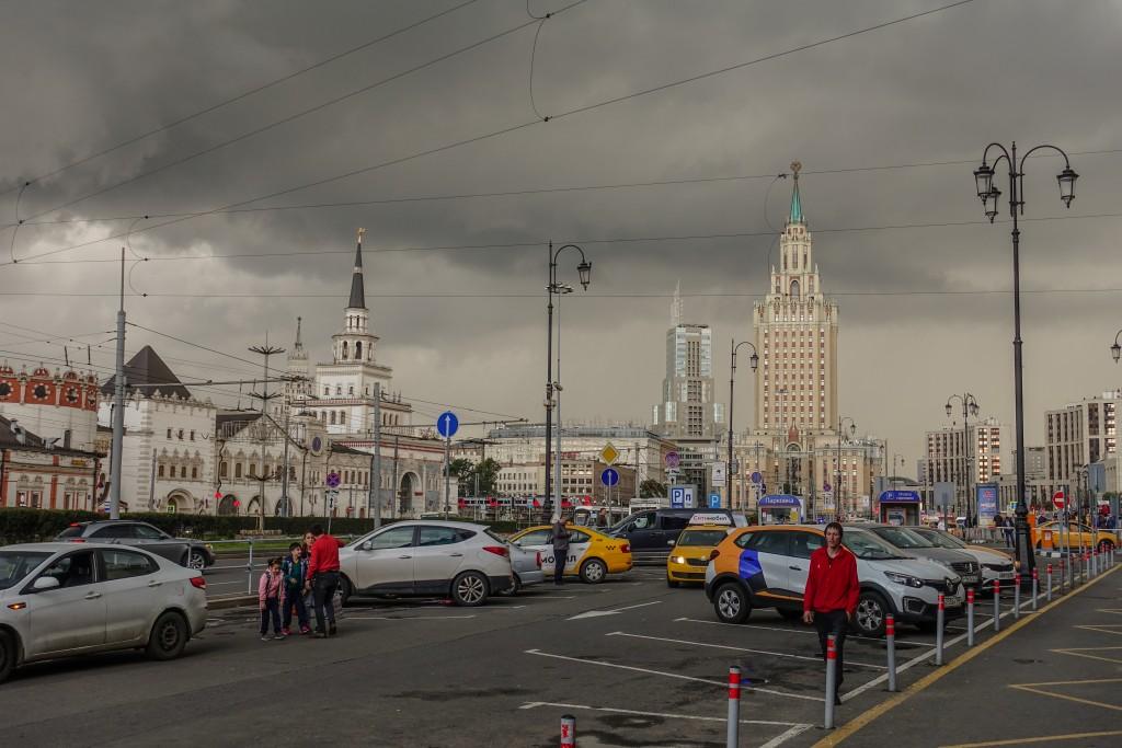 dworzec kazański w Moskwie