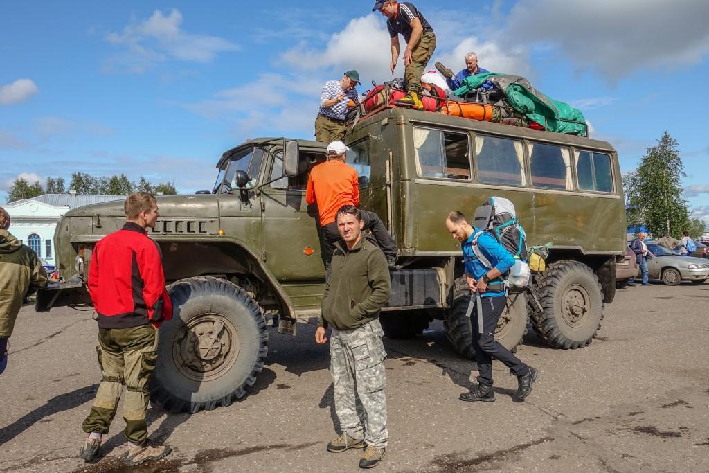 Ciężarówka Ural