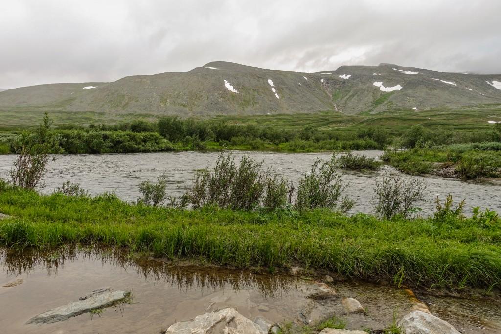 rzeka w górach Ural Subpolarny