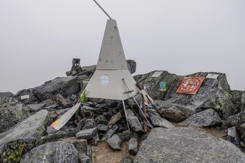 szczyt góry Narodnaja Ural Subpolarny