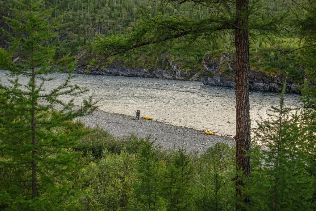 spływ packraftingowy na Uralu