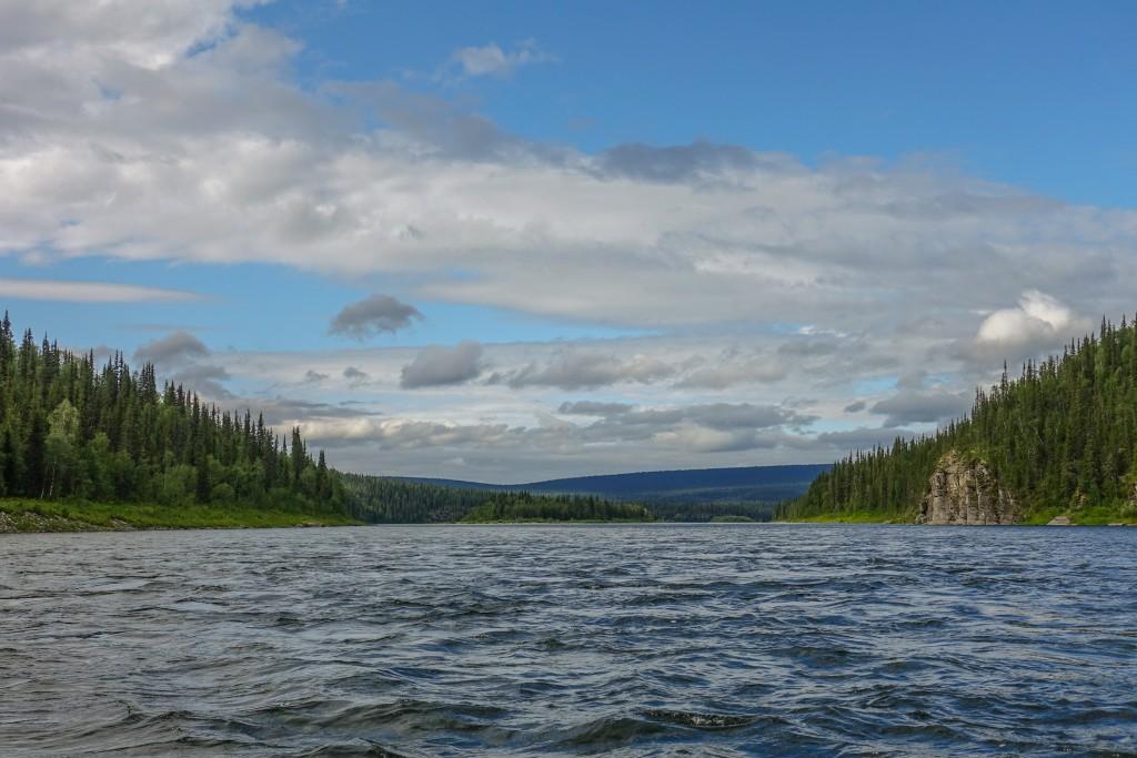 Ural spływ pontonami. Packrafting