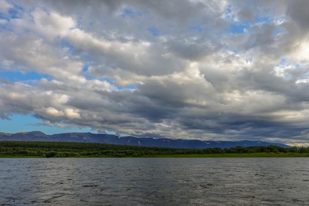 Góry Ural Subpolarny pasmo Północne Saledy