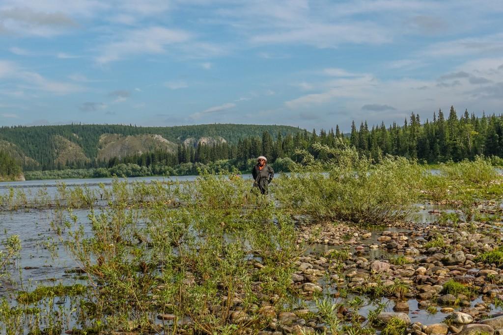 Spływ rzeka Korzym. Ural Subpolarny