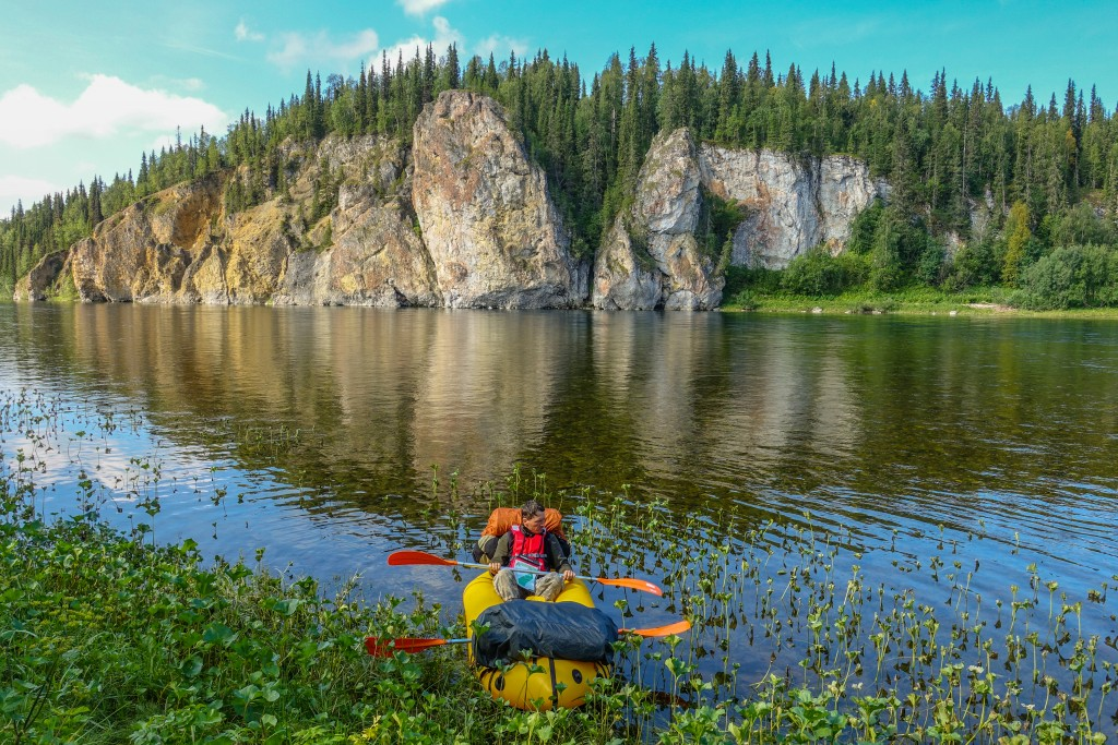 Packrafting Russia
