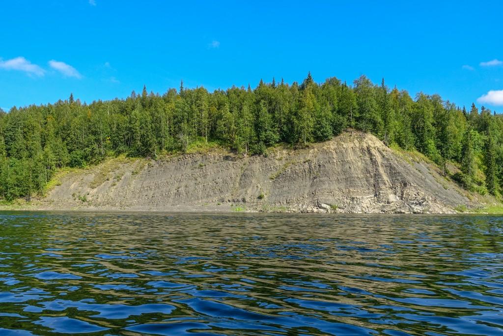 Spływ rzeką. Ural Subpolarny, Rosja
