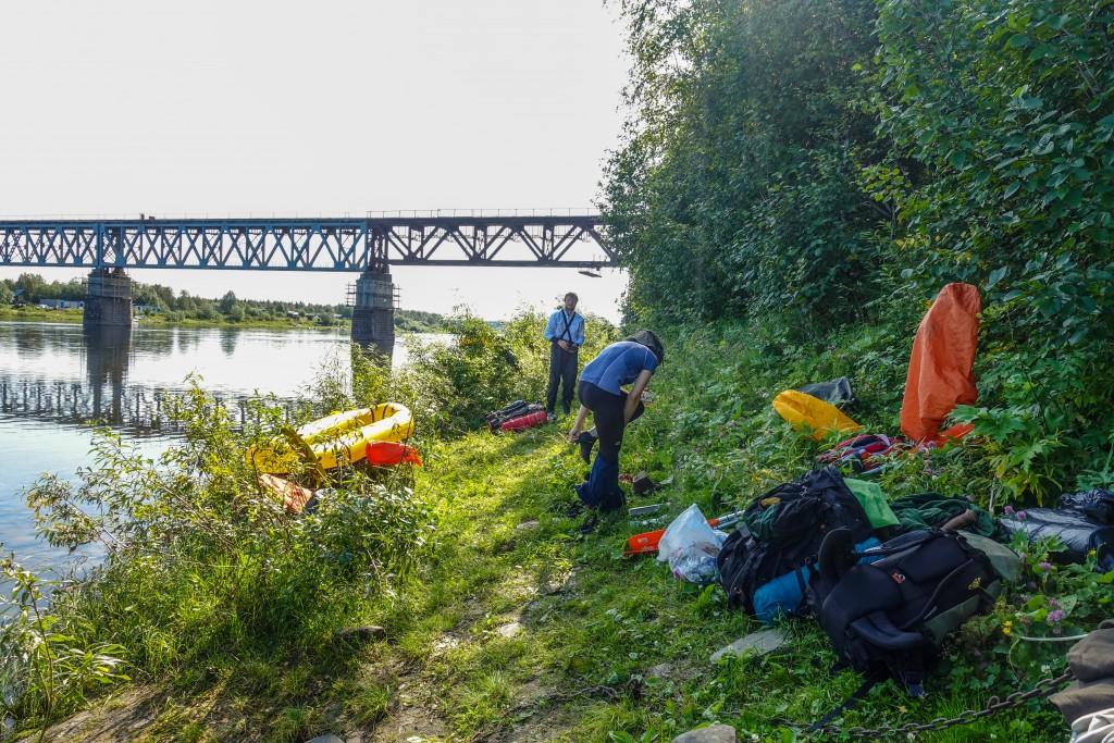 Packrafting Ural Rosja