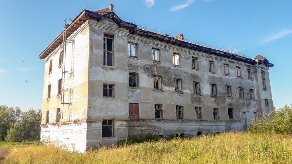 Opuszczone miasto. Ural Rosja