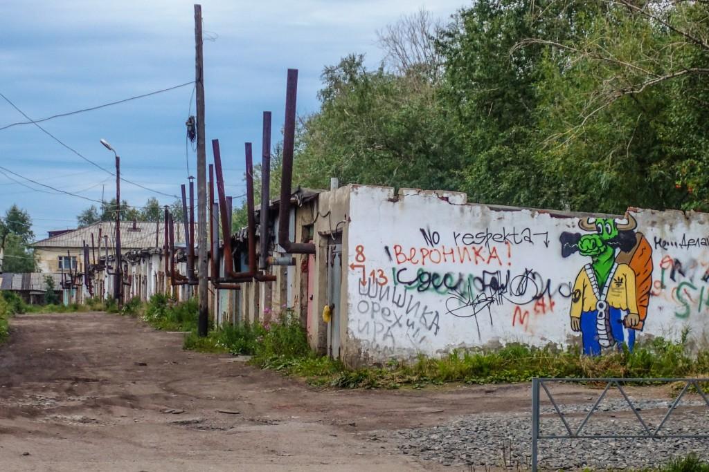 Garaże w Rosji