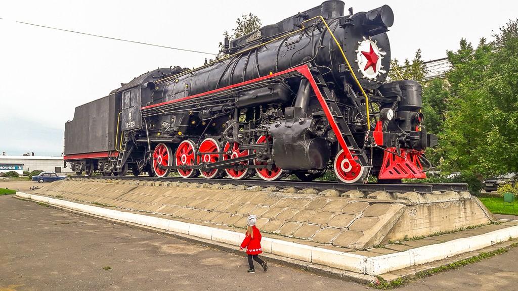 Lokomotywa parowa. Rosja