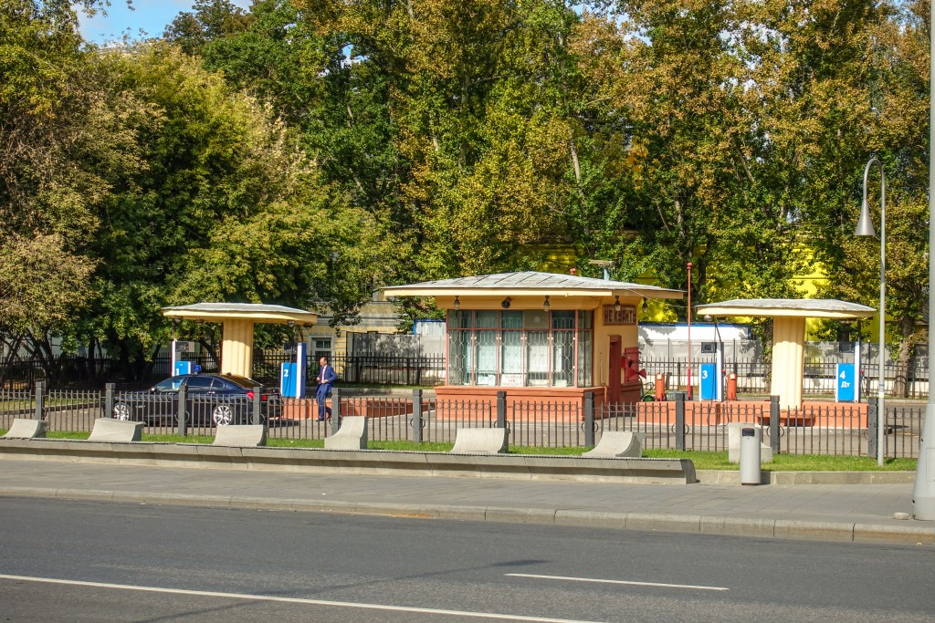 kremlowska stacja paliw na Wolchonce