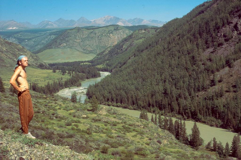 Rzeka Czuja Ałtaj
