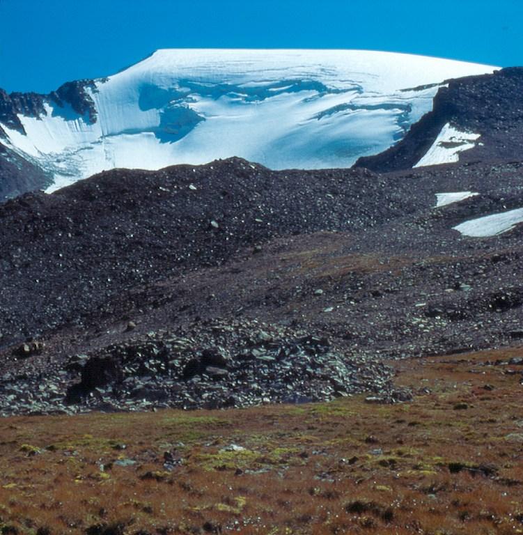 szczyt Kupol Triech Ozier (Купол Трех Озёр)