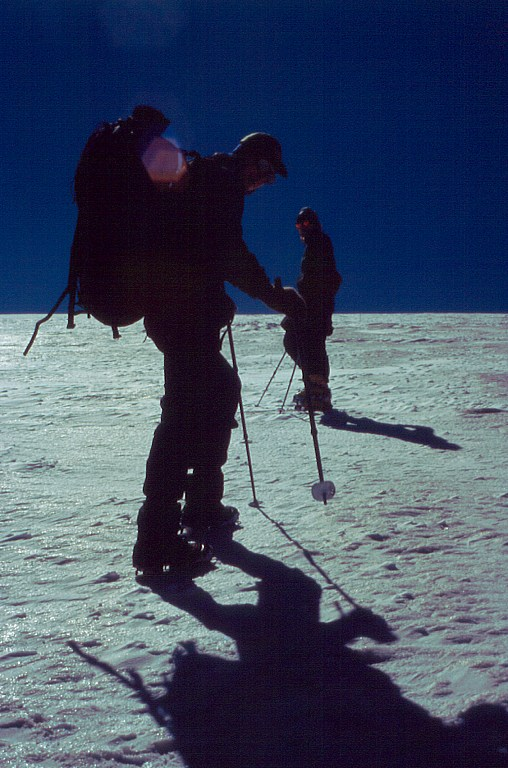 Podejscie na szczyt Kupoł Triech Ozier (Купол Трех Озёр)