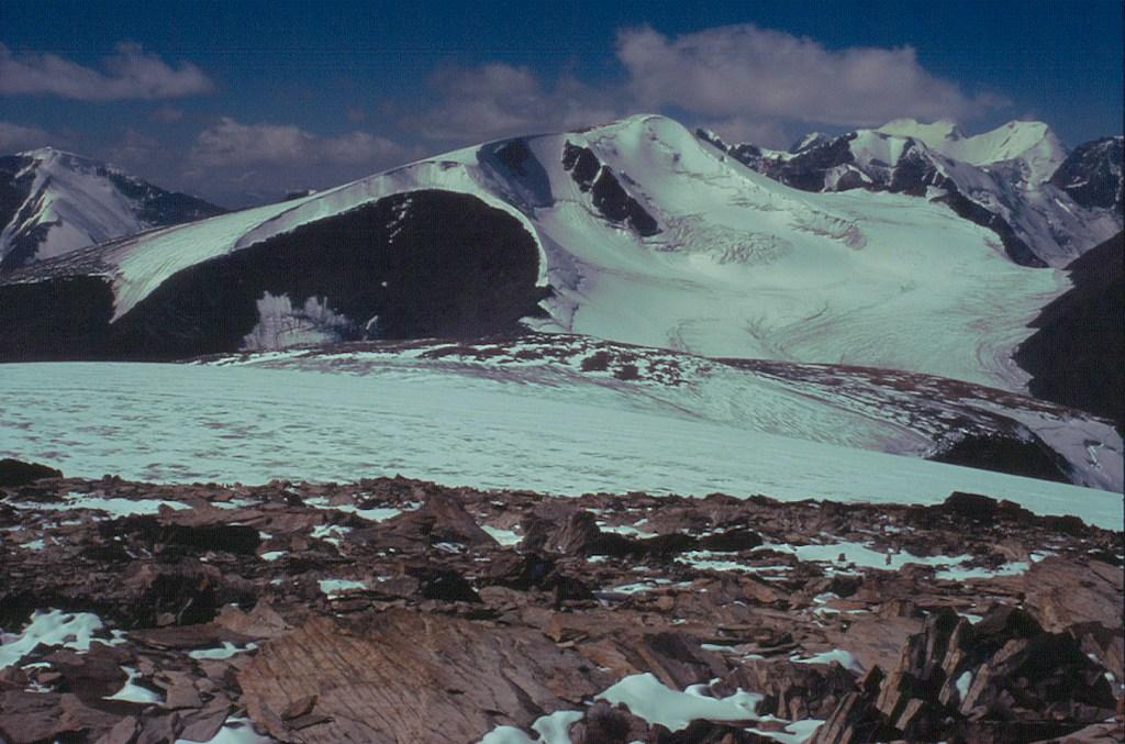 Szczyt Śnieżnyj na Ałtaju