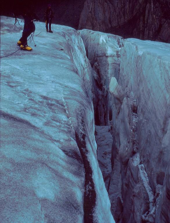 lodowiec Bolszoj Akturu (Большой Актуру)