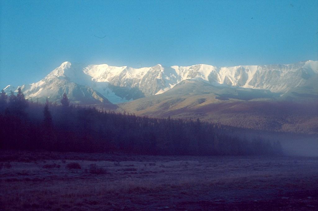 Góry północnoczujskie. Szczyt Kurkurek