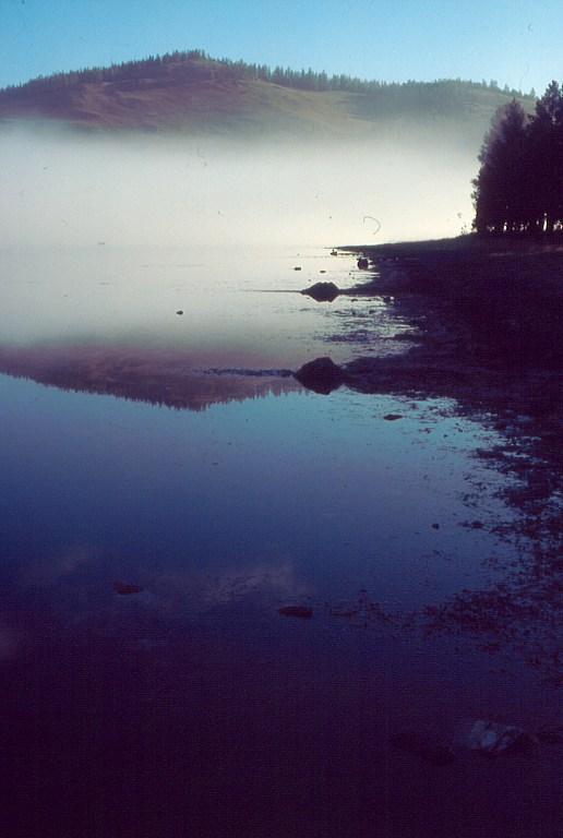 Jezioro na Ałtaju