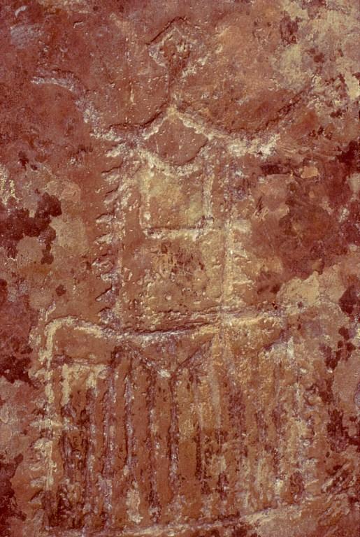 Petroglify z uroczyska Kalbak-Tasz Калбак-Таш na Ałtaju