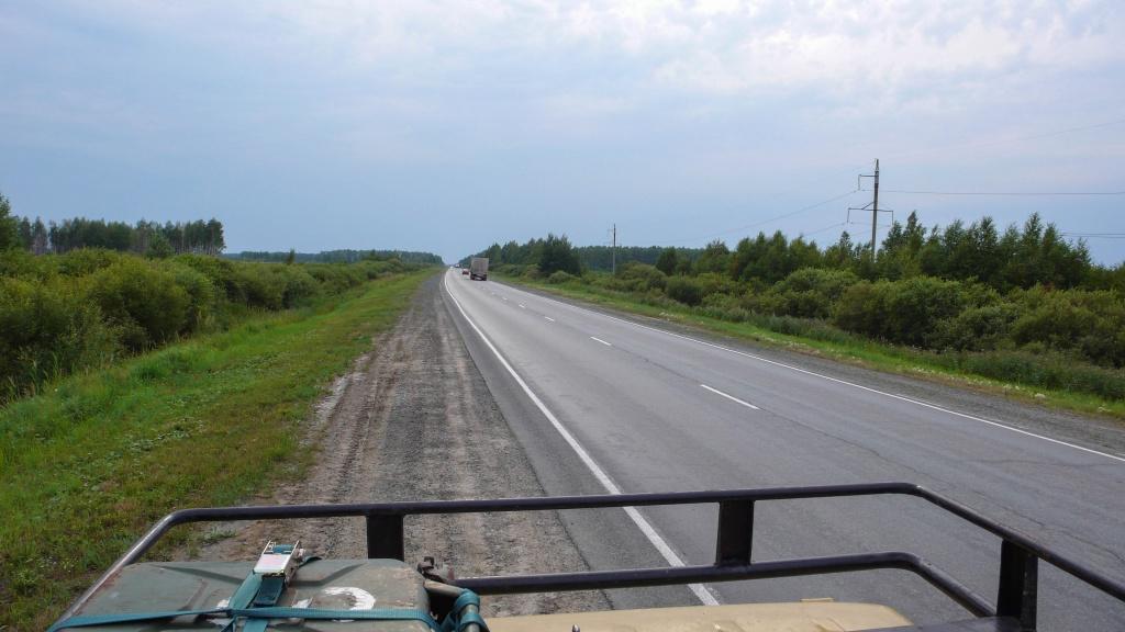 Syberia. Droga w rosji