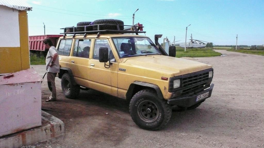 Tankowanie Nissan patrol 160 w Rosji