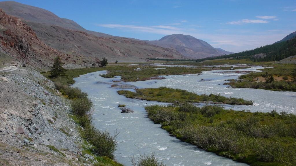 Rzeka Taldura Ałtaj