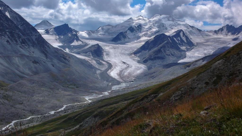 Taldurynski glacier