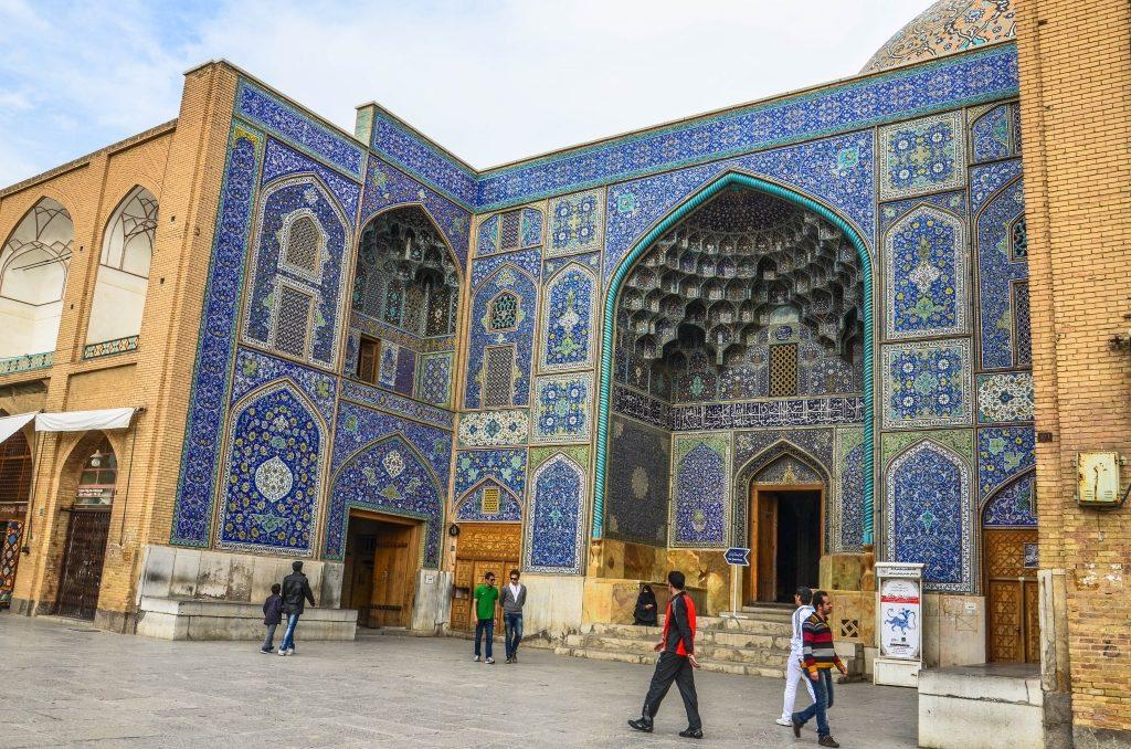 Niewielki meczet Luft Allaha.